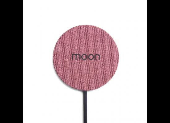 Moon Waterproof Charging Pad - Pink Fabric