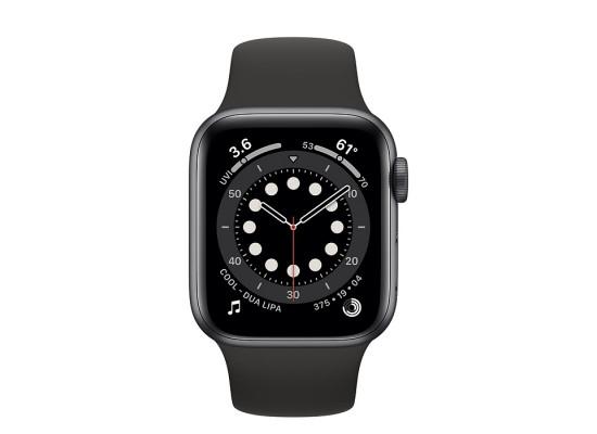 Apple Watch Series 6 GPS 44mm Aluminum Case Smart Watch - Grey / Black