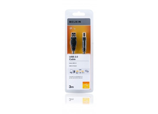 Belkin 3M USB Cable (F3U154CP3M)