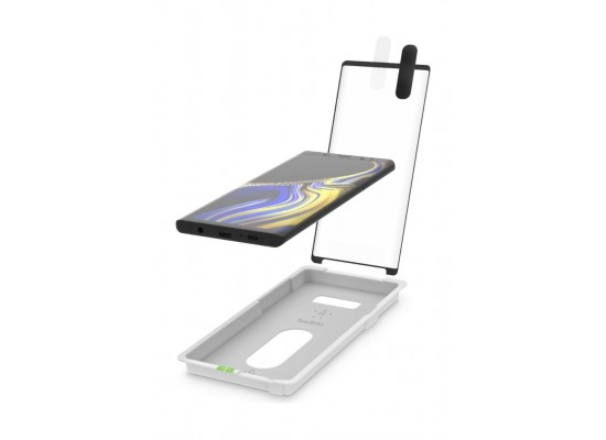 Belkin Tempered Glass For Galaxy Note 9 - Black