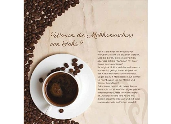Fakir Kaave 735W Turkish Coffee Maker Machine (41002904) - Whte
