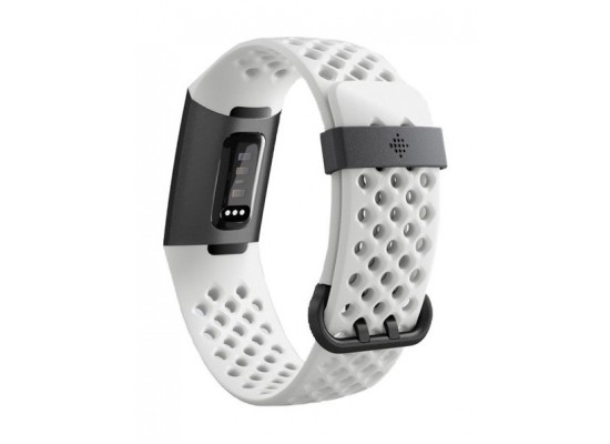 Fitbit Charge 3 Fitness Wristband Special Edition (FB410GMWT-EU) - Frost White