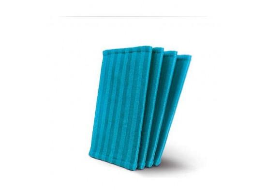 Philips 4 Microfiber Pads For PowerPro Aqua Stick Vacuum Cleaner FC6400 (FC8063/01)