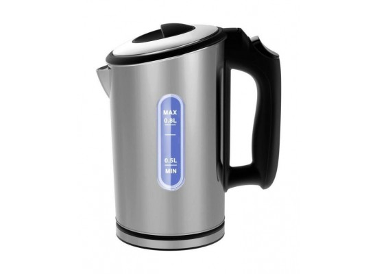 Frigidaire 1000W 0.8L Stainless Steel Kettle (FD2112) – Black / Silver