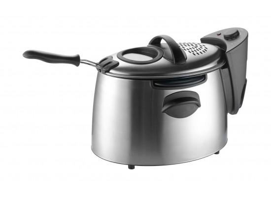Frigidaire 2300W 4Liters Stainless Steel Deep Fryer (FDDF-1001) - Black / Silver
