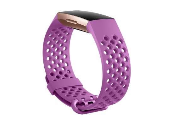 Fitbit Charge 3 Large Access Sport Band - Berry