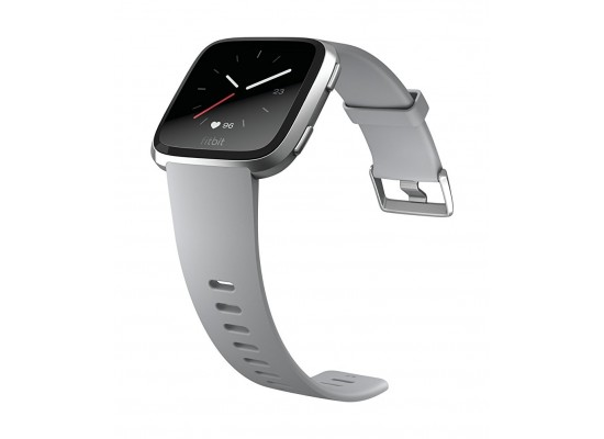 Fitbit Unisex Versa Health and Fitness Smartwatch (FB505SRGY) - Grey/Silver