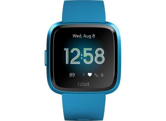 Fitbit Versa Lite Edition Smartwatch (FB415BUBU) - Marina Blue