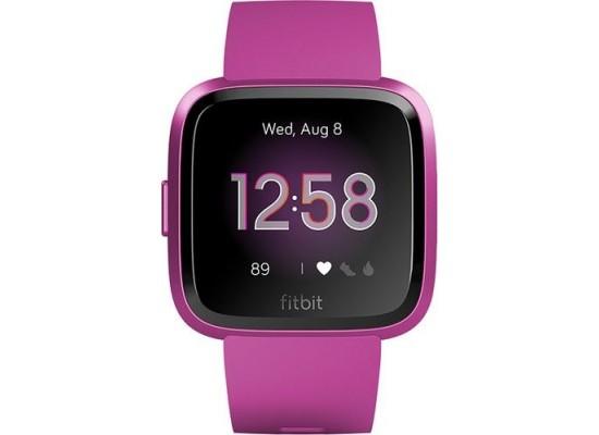 Fitbit Versa Lite Edition Smartwatch (FB415PMPM) - Mulberry