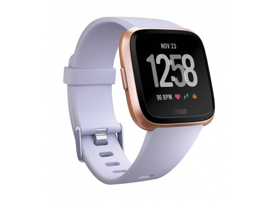 Fitbit Versa Smat Fitness Tracker - Rose Gold/Periwinkle 1