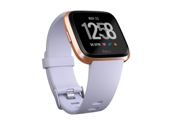 Fitbit Versa Smat Fitness Tracker - Rose Gold/Periwinkle 2