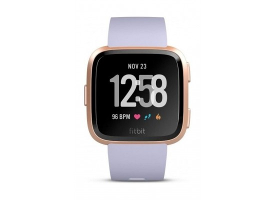 Fitbit Versa Smat Fitness Tracker - Rose Gold/Periwinkle 3