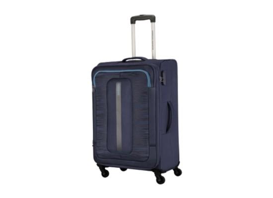 American Tourister 55CM Navy Brisbane Spinner Soft Luggage in Kuwait | Buy Online – Xcite