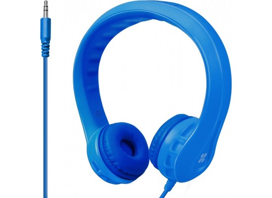 Promate Flexure Wired Headphone For Kids - Blue