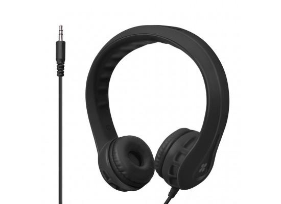 Flexure Super Flexible Wire Headphone For Kids - Black