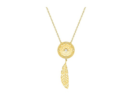 Fontenay Ladies Necklace - Brass - Gold Plated  (DSC337Z40E) in Kuwait   Xcite Alghanim