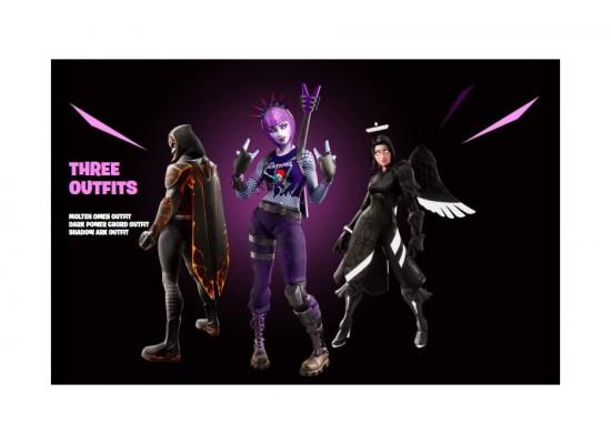 Fortnite: Darkfire Bundle - PS4 Game