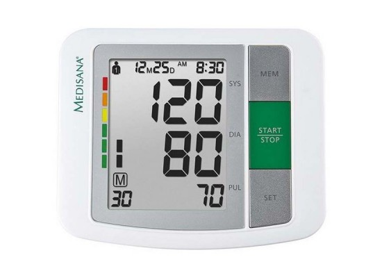 Medisana 51160-BU 510 Upper Arm Blood Pressure Monitor - Front View