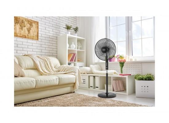 Black+Decker 16-inches Floor Standing Fan (FS1620-B5) - Black