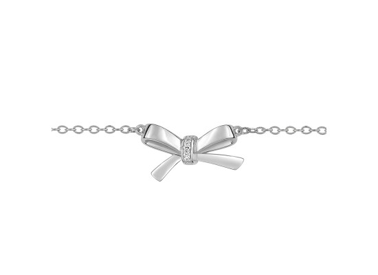 Fontenay Ladies Bracelet - Brass - Rhodium Plated  (FSB358Z18E)