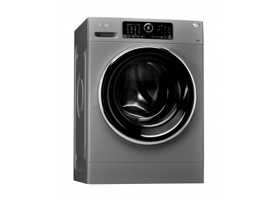 Whirlpool FSCR10422 Front Loader Washer 10kg + Whirlpool 10 Kilogram Dryer Condenser + Princess Vertical Steamer Pro 3 Liters