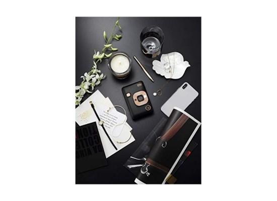 Fujifilm Instax Mini LiPlay Camera - Elegant Black