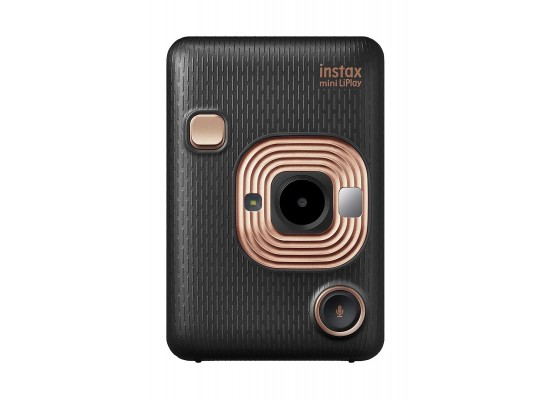 Fujifilm Instax Mini LiPlay Camera - Elegant Black