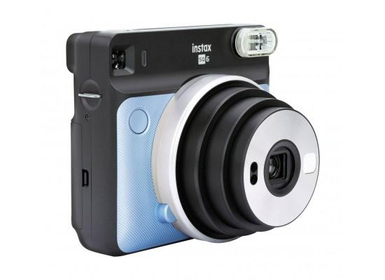Fujifilm Instax Square SQ6 Instant Film Camera - Aqua Blue