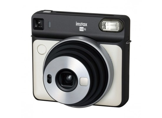 Fujifilm Instax Square SQ6 Instant Film Camera - Pearl White