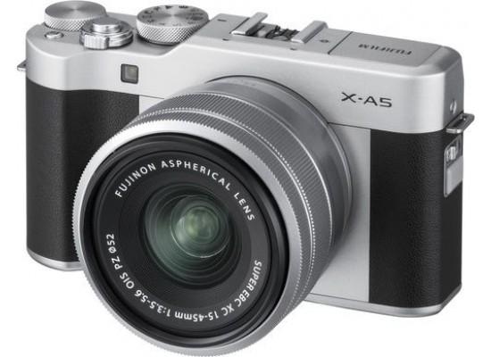 FujifilmX-A5 Mirrorless Digital Camera + 15-45mm Lens - Black