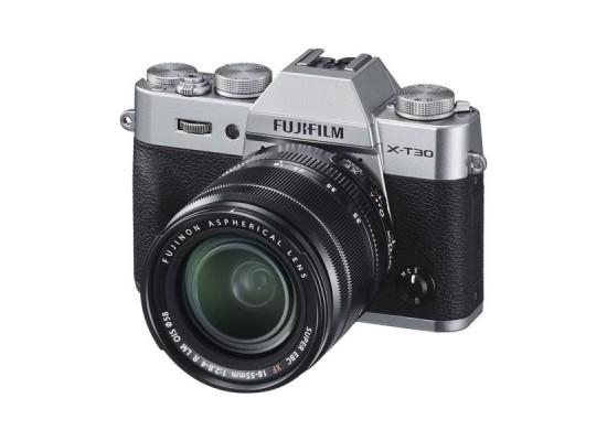 Fujifilm X-T30 Mirrorless Camera + 18-55mm Lens - Silver