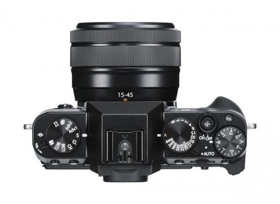 Fujifilm X-T30 Mirrorless Camera + 15-45mm Lens - Black