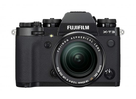 Fujifilm X-T3 Mirrorless Digital Camera w/XF18-55mm Lens Kit - Black