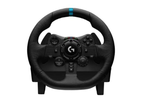 Logitech G923 TrueForce Slim PS4 and PC Racing Wheel in Kuwait   Buy Online – Xcite