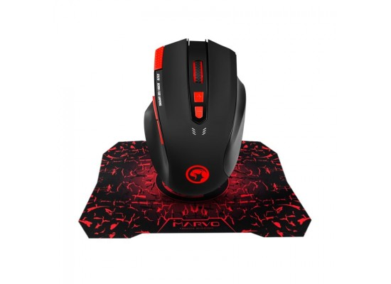 EQ Marvo G928+G1 Mouse And Mousepad