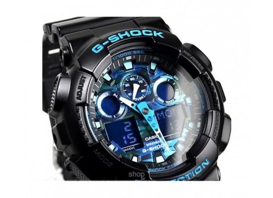 Casio G-Shock Ana-Digital Sport Watch For Men (GA-100CB-1ADR)