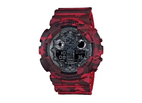 Casio G-Shock 55mm Men's Digital Watch (GA-1000-4BDR) in Kuwait   Buy Online – Xcite