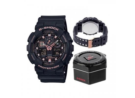 Casio G-shock Digital Gents Rubber Watch (GA-100GBX-1A4DR)