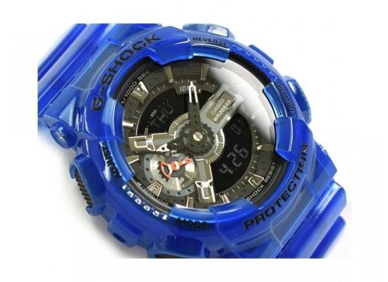 Casio G-Shock Blue Band Sport Watch (GA-110CR-2ADR)