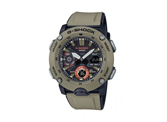 Casio G-shock Analog-Digital Gents Rubber Watch (GA-2000-5ADR)