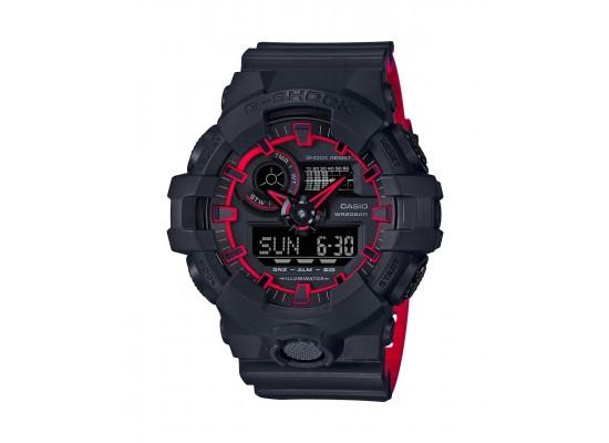 Casio G-shock Digital Gents Rubber Watch (GA-700SE-1A4DR)