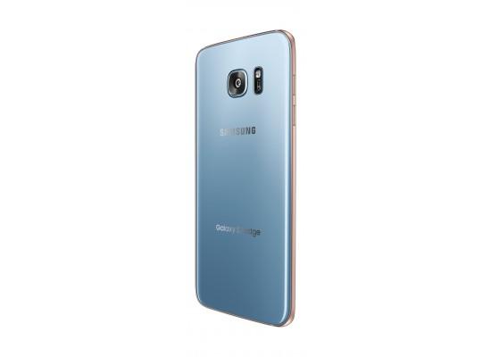Samsung Galaxy S7 Edge 32GB 12MP 4G LTE Dual-SIM 5 5-inch Smartphone – Blue  with 128GB Memory Card