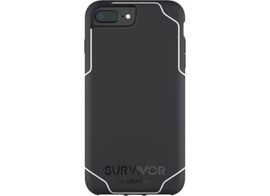 quality design b77dd 7db25 Griffin Survivor Journey Case For iPhone 7+ (GB42819) - Black/White