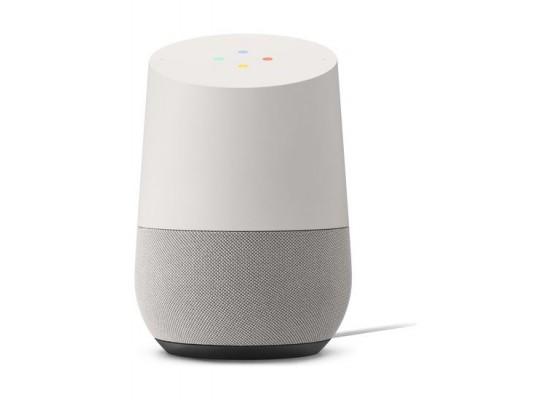 Google Home Assitant Speaker – White front view