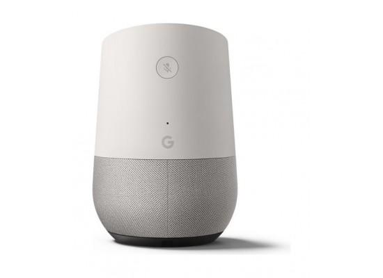 Google Home Assitant Speaker – White back view