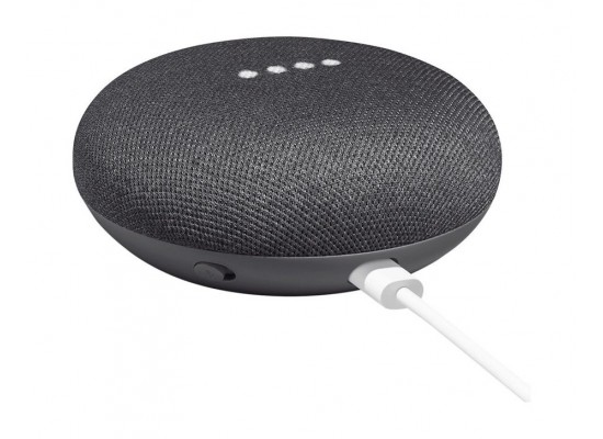Google Home Mini Personal Assistant - Charcoal 3