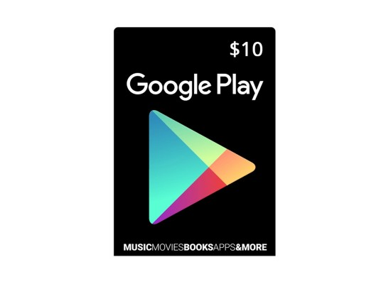 Google Play Digital Gift Card 10$ (US Account)