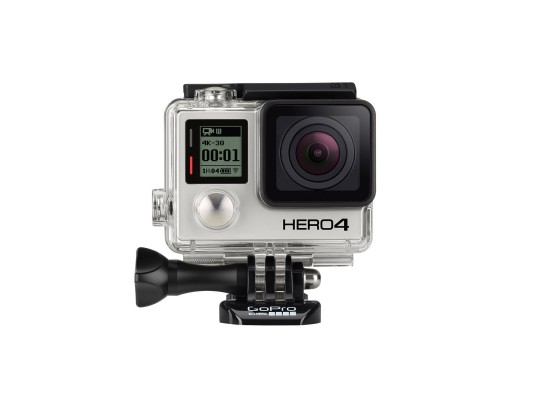 GoPro Hero 4 Black Edition + 32 GB Micro SD Card + Xtreme Action Series Handgrip + Aluminum Thumb Knob Kit + Xtreme Action Series Case