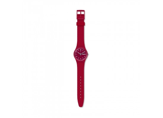 Swatch Lazered Quartz Analog 34mm Unisex Rubber Watch (GR710)