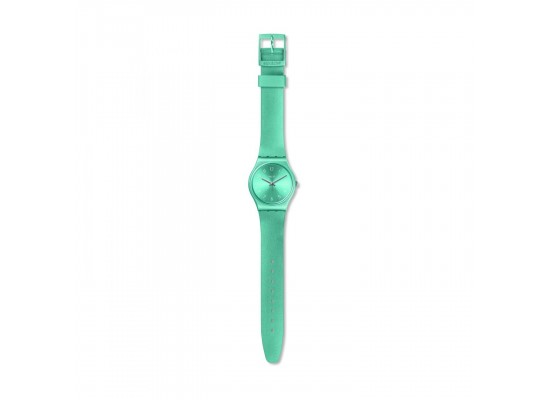 Swatch So Blue Quartz Analog 34mm Unisex Rubber Watch (GS160)